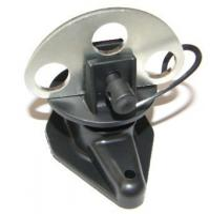 Buy cheap Черный изолятор столба пути ручки 3 ворот ПП для системы деревянного столба электрической ограждая product