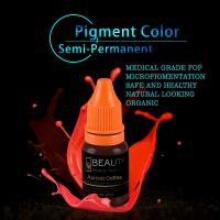 Buy cheap Lip Tattooing Semi Permanent Makeup Ink Eyebrow Eyeliner Tattoo Ink Pigment from wholesalers