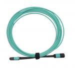 Buy cheap MPO/PC/F to MPO/PC/F for OM3 with 12B 3.0mm for 1M/5M/10M OFNP/LSZH Aqua B product