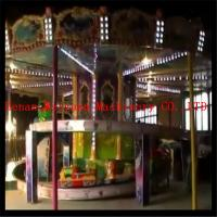 Buy cheap new fashion 10 cars  carousel model family kids rides mini roller coaster for sale product