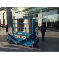 Buy cheap 10m-18m Mast lift Platform Height Hydraulic Aerial work platform Boom Lift from wholesalers