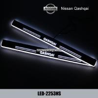 Buy cheap Nissan Qashqai car accessories upgrade led door moving scuff plate lights product