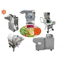 Buy cheap Adjustable Thickness Vegetable Processor Machine Vegetable Slicer Dicer product