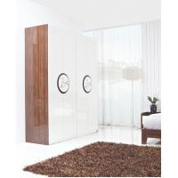 Buy cheap New Design Melamine Material Modern bedroom Custom wardrobe in fashion handle with Open door product