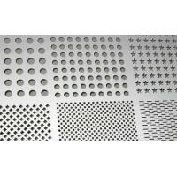 Buy cheap Factory Stair Boards 317, 317L, 321, 304 Stainless Steel Checkered Plate, Perforated Sheet product
