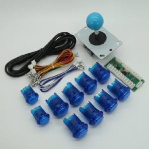 Buy cheap USD18.95---Arcade DIY Parts USB Encoder + 1Joystick + 10 Illuminated  Push Buttons MAME blue color product