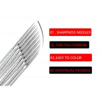 Buy cheap Universal  18 Pin Manual Shading Needles Microblading Blades #316 Stainless Steel product