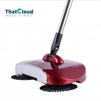 Buy cheap Eco - Friendly Creative Spin Brush Floor Sweeper Stainless Steel Tube Handle product