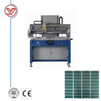 Buy cheap High Speed Flatbed Screen Printing Press 800pcs/h For PCB Printing ISO 9001 Approved product