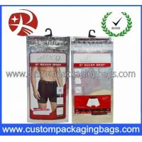 Buy cheap Printed Plastic Hanger Bags For Garment And Towel Packaging product