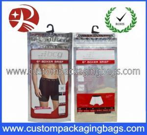 Printed Plastic Hanger Bags