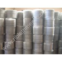 Buy cheap Galvanized Expanded Brick Wall Mesh , 0.35mm Thinkness Brick Reinforcing Coil product
