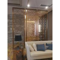 Buy cheap New design decorative metal panels stainless steel screen for wall panels for partition application product