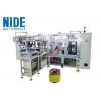 Buy cheap High effeciency fully automatic four working stations stator coil lacing machine product