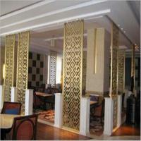 Buy cheap Mirror titanium stainless steel wall panels decorative color screen metal 304 grade product