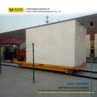 Metallurgy factory track electric transfer cart
