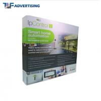 Buy cheap Custom Printed Trade Show Backdrop Displays , Portable Exhibition Displays Flame Resistant product