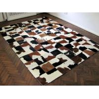 Buy cheap Luxury Cow Leather Carpert Rug Of Animal Hide&Skin For Home Decor from wholesalers