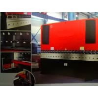 China 80t X 3200 CNC Metal Bending Machine , Hydraulic Steel Plate Bending Machine on sale