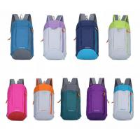 Buy cheap Lightweight Leisure Backpacks , 600D Polyester Foldable Stylish Travel Bags product