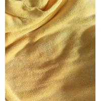 Buy cheap 150cm Width 550gsm Microfiber Cleaning Cloth Yellow Coral Fleece 150D / 144F product