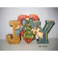 Buy cheap Poly resin  Christmas Nativity Decoration statues arts and crafts with cute letters product