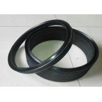 Buy cheap Black NBR FKM PTFE Silicone Rubber Washers / Hydraulic Vee Packing Seal product