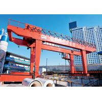 Buy cheap Electric Double Beam Gantry Crane / Lifting Equipment  For Subway Construction product