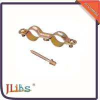 China Double Ring Gas Pipe Clamp 11mm Width Wear Resistant For Waste Water Pipes on sale