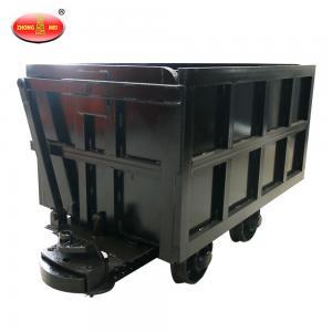 Buy cheap High Quality Mining Equipment  YCC Curved Rail Side Dumping Car product