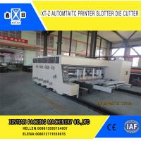 Buy cheap CE Approval Steady Carton Making Machine 40mm Baffle Thick Lead Edge Feeder from wholesalers