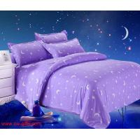 China New Printing Bedding Set Fashion Bed Sheet Duvet Cover Pillowcase Winter Cotton Bed set on sale