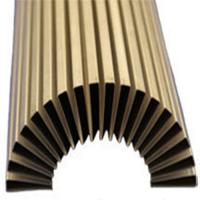 Buy cheap Custom folded fin heat sinks aluminum/brass China manufacturer product