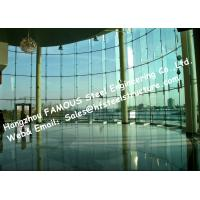 China Tinted Color Invisible Frame Aluminum Glass Façade Curtain Wall Double Glazed Spandrel Glass Insulation wholesale