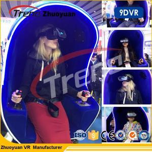 Buy cheap 720 cadeira do simulador da realidade virtual do capacete 9D da imersão do grau para o shopping product
