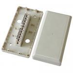 Buy cheap Boîte blanche de distribution par câble 10 paires de LSA de module de téléphone de boîte de distribution d'intérieur product