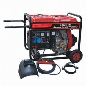 Buy cheap soldador 2KW y generador con poder del motor diesel 6.7KW product