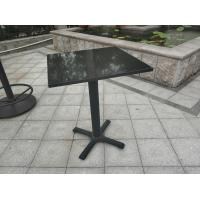 Buy cheap Bistro Table base Cast Iron Table leg Water proof Outdoor Furniture Bar Table product