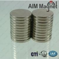 Buy cheap permanent magnet rare earth neodymium magnet D13*1mm product