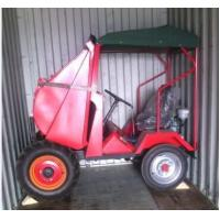 Buy cheap Best Price For FC10 Mini 1 ton Wheel Dumper With Mechanical Tipping hopper product