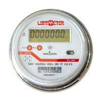 30-100A Secure Single Phase Energy Meter / Round Single Phase Two Wire Static Energy Meter