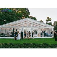Buy cheap Transparent Aluminum alloy Event Marquee Tent / Wedding Party Tent from wholesalers