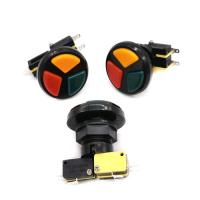 Buy cheap Multicade 3 in 1 triple Round push button microswitch product