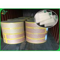 China 31 GSM White FDA Approved Cake Food Grade Paper Roll Packing For Heating Food on sale