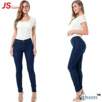 Huge Stock Ladies Jeans Pant Button Skinny Fit Fly Closure Type