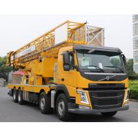 Buy cheap Durable Under Bridge Platform Snooper Truck Inspection Equipment Yellow Color from wholesalers
