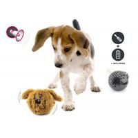 Non Toxic Plastic Plastic Dog Balls Toys Motion Activated With Bouncy Tail for sale
