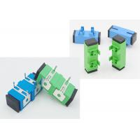 Buy cheap SC APC UPC Optical Cable Adapter With Press Fit Iron Foot Used For PCB Circuit Board product