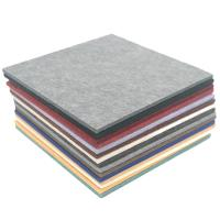 Buy cheap Eco - Friendly Polyester Fiber Acoustic Panel Customized Colors Sound Proof 9mm product