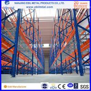 China Popular USA / Australia Type Teardrop Pallet Racking / Metallic Pallet Shelf on sale